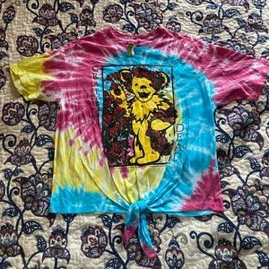 GRATEFUL DEAD    NWT Tie Dye Shirt